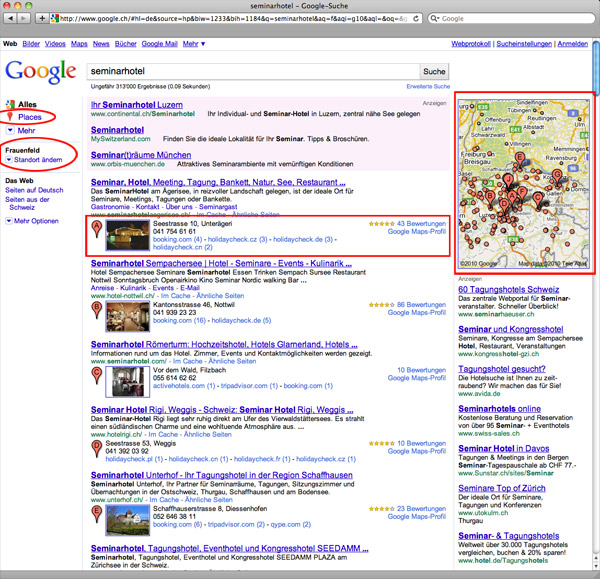 Place Search Google